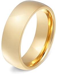 Juwelier Schönschmied - Damen Ring Edelstahl Stainless Steel kostenlose Gravur Goldini Edelstahl inkl. persönliche Wunschgravur Nr107H