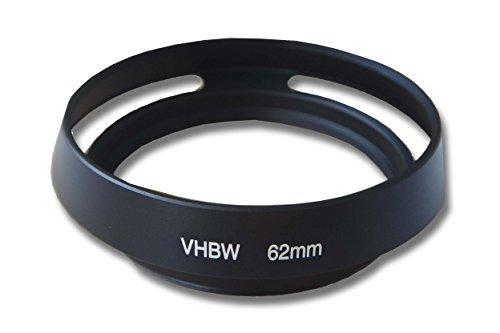 Dispositif Pare-Soleil, Anti-Reflets 62mm pour Appareil Fuji/Fujifilm XF 23 mm F1.4 R, XF 55-200 mm F3.5-4.8 R LM OIS, XF 56 mm 1,2 R APD.