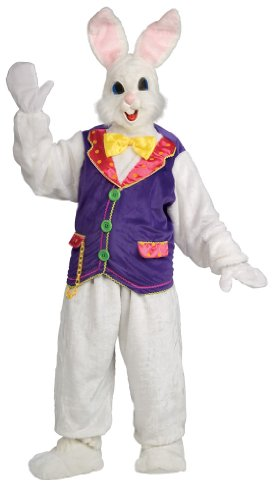 (Bunny Deluxe Costume With Vest Adult Standard)