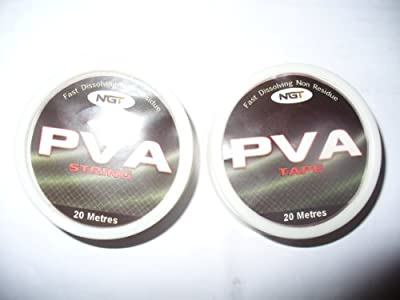 x 2 pva tape and string 20 metres carp fishing by ngt
