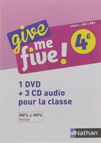 Give Me Five Quatrime - Coffret CD + DVD 2017