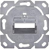 Telegärtner Modul-Aufn. 1-/2-fach UP/0 H02010B0085 BR f.Schalterprogr. Kommunikationsanschlussdose Kupfer 4018359427221