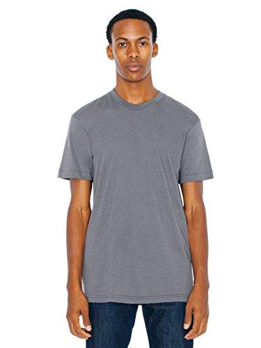 american-apparel-men-50-50-crewneck-t-shirt-size-m-asphalt