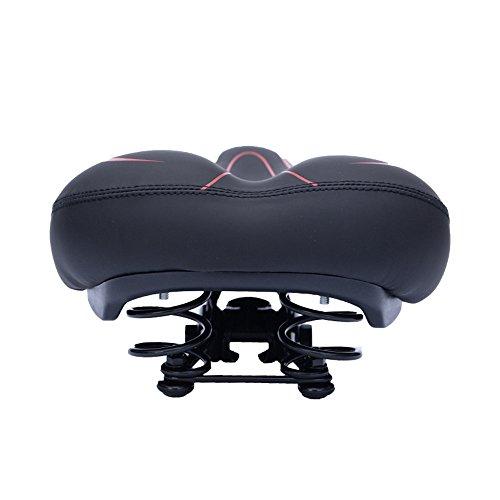 Table de camping table pliante Seat Saddle - Hommes de femmes imperméables de selle ronde de confort large de protection - appropriés aux vélos de montagne/vélos de route/vélos de spinning