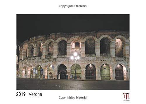 Verona 2019 - White Edition - Timocrates wall calendar, picture calendar, photo calendar - DIN A3 (42 x 30 cm)