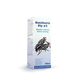 Extasialand Cantharis Fly Extra Strong 30 ml Potenzmittel für Männer & Potenzmittel für Frauen sowie starkes Aphrodisiakum Liebestropfen für Sie und Ihn