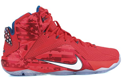 Nike lebron xII chaussures de performance Rouge - Rouge