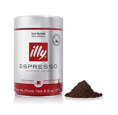 Illy Espresso Medium Roast Ground Coffee 250g from Illy