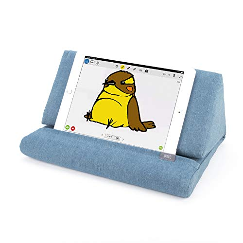 Ipevo Kissenständer PadPillow für iPad 1/2/3/4/Air/Nexus/Galaxy blau -