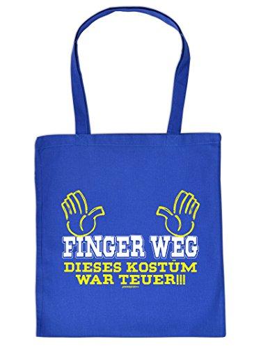 tasche mit Faschings-Motiv: Finger Weg Dieses Kostüm war Teuer Goodman Design (Humorvolle Kostüm)