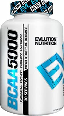 Evlution Nutrition BCAA 5000 240 Tab from EVLUTION NUTRITION