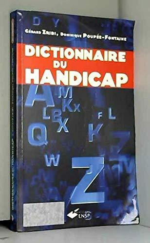 Dictionnaire du handicap par Gérard Zribi