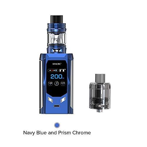 Smok R-Kiss 200W E Zigarette Starter Set Mit TFV-Mini V2 Verdampfer-Kein Nikotin und Tabak (Marineblau)