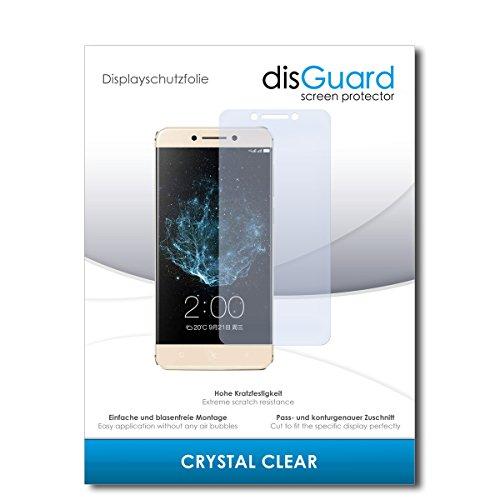 disGuard® Bildschirmschutzfolie [Crystal Clear] kompatibel mit LeEco Le Pro 3 Elite [2 Stück] Kristallklar, Transparent, Unsichtbar, Extrem Kratzfest, Anti-Fingerabdruck - Panzerglas Folie, Schutzfolie