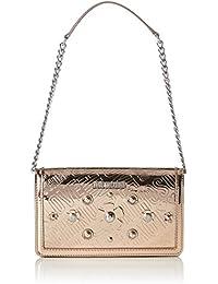 72d299e753 Love Moschino Borsa Embossed Tpu Rame, Women's Shoulder Bag, Brown (Copper),