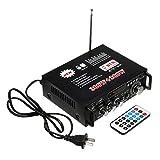 220V Car Music Amplifier Cablaggio Kit Mini Amplificatore Audio Auto con Wireless Bluetooth 90DB Rapporto Segnalo-rumore Reale HiFI Effetto Suono Progetto per Auto