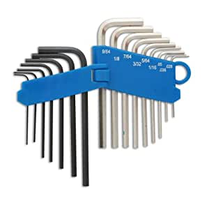 Laser 4196 Miniature Hex Key Set Mm/af