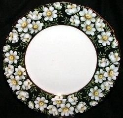 Royal Albert China Decorative Plate mountain avens - provincial flower series - 21CM