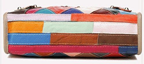 Keshi Leder Cool Damen Handtaschen, Hobo-Bags, Schultertaschen, Beutel, Beuteltaschen, Trend-Bags, Velours, Veloursleder, Wildleder, Tasche Schwarz
