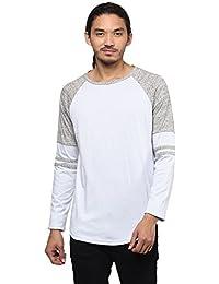 Atorse Mens Sweatshirt with Raglan Sleeve