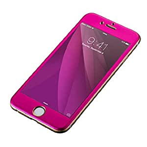 Cool Idea Full Coverage 3d Edge Screen Tempered Glass for Iphone 6 Plus/iphone 6s Plus (Red)