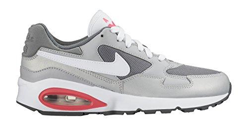 Nike Air Max ST (GS), Chaussures de Running Entrainement Fille, Noir Gris / blanc / rose (gris loup / blanc - gris froid - hyper rose)