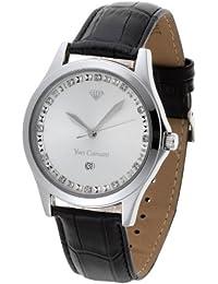 Yves Camani Herren-Armbanduhr Big Twinkle Analog Quarz YC1028-E