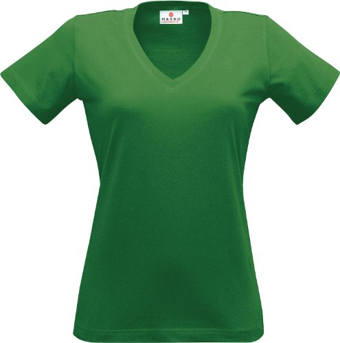 Women-V-Shirt Classic Wasabi