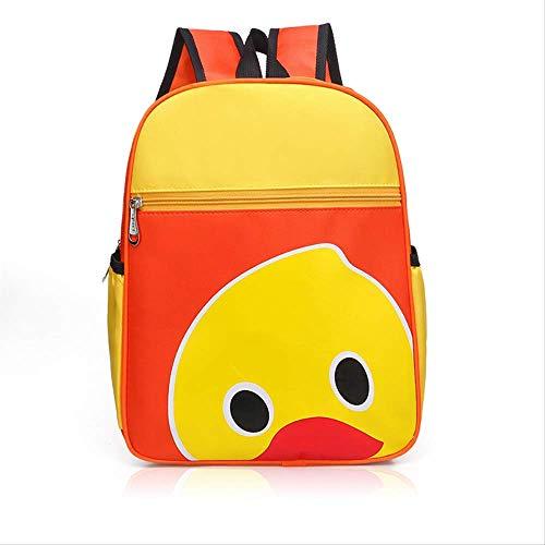 Kinder Tasche, Kindergarten Kleine Gelbe Ente Tasche Kinder Cartoon Rucksack Beratung Training Klasse Rucksack, Unisex gelb -