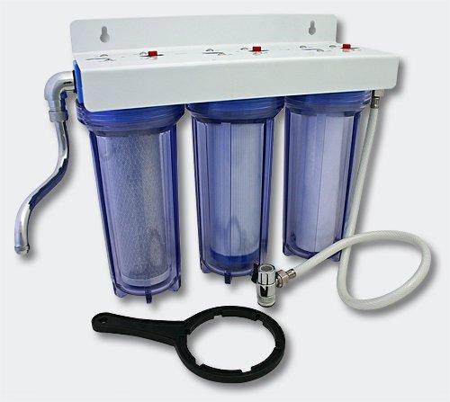 Naturewater NW-PR103 3 Stufen Filter 3/4 Zoll 19 mm Wasserfilter Wasser - Stufe 3 Wasser