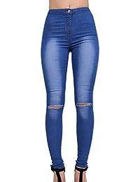 PILOT® haute genou oblique à taille jeans skinny