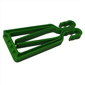 SKITRÄGER und Stöcke klipski in grün (Paar)–Schnelle und einfache Anwendung, für die Experten wie für die keinen