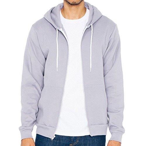 american-vestir-flex-forro-polar-cremallera-sudadera-con-capucha-f497-gris-pizarra-s-8636-cm-9144-cm