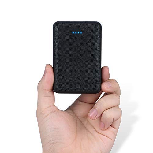posugear powerbank 10000mah, caricatore portatile con 2 uscite (2.1a+1a) compatibile con tutti i telefoni e tablet