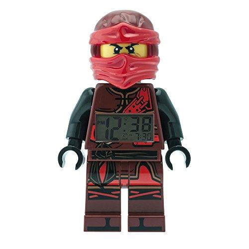 LEGO–Despertador Lego Ninjago Time Twins kai–rojo y negro