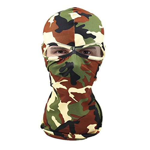 Tarnung Balaclava Gesichtsmaske Kapuze Sommer Kopfbedeckung Jagd ninja im Freien spf Hüte