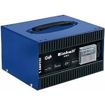 Einhell BT-BC 5 - Cargador de batería (50 Hz, 230 V) color azul y negro
