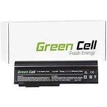 Green Cell® Extended Serie Batería para Asus M50V Ordenador (9 Celdas 6600mAh 11.1V Negro)