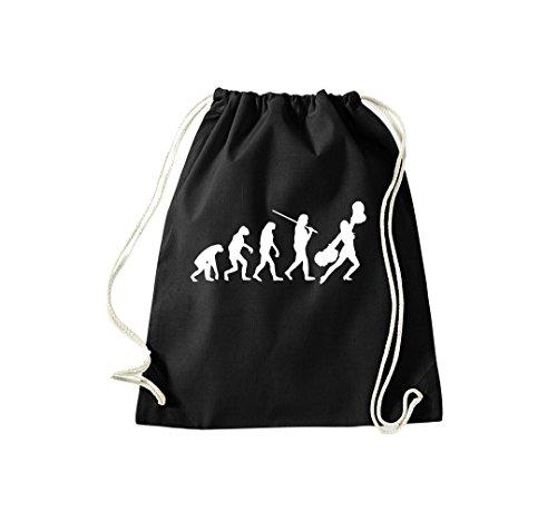 Unbekannt Turnbeutel Evolution Cheerleader Cheerleading Kostüm Fun Sport Tanz Gymsack Kultsack ()