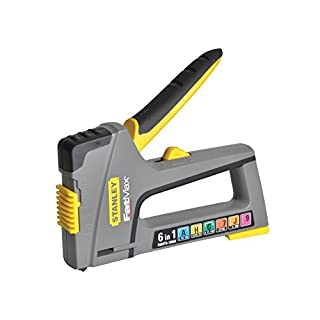 Stanley Tools ZSTA-0-70-868 TR75 6 in 1 Heavy-Duty Stapler & Nail Gun