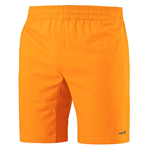 HEAD Jungen Club Bermuda Shorts, Orange, L