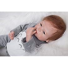 HOOMAI 22inch 55 cm boy muñeca reborn bebé Niño pequeño suave silicona vinilo realista reborn baby