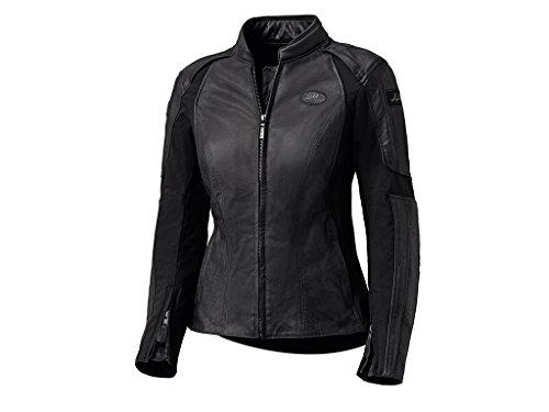*Held Viana modische Damen Motorrad Lederjacke, Farbe schwarz, Größe 42*