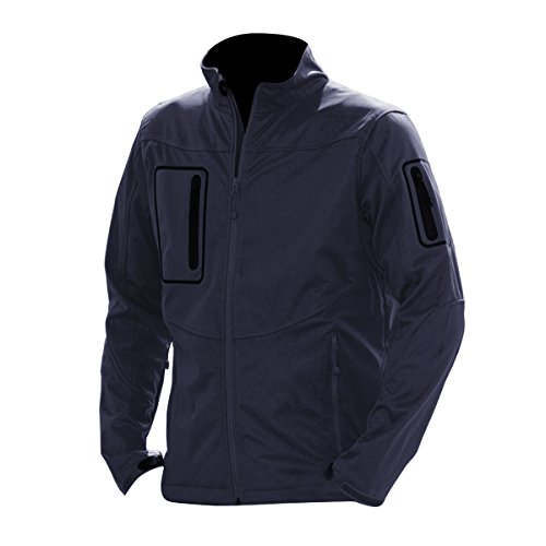 Russell - Giacca Softshell - Uomo Blu navy