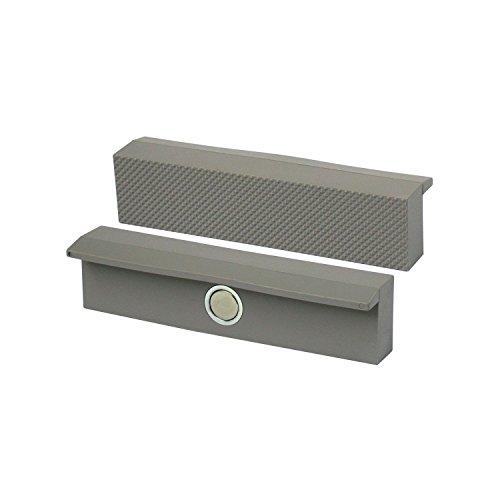 rechtwinkelig material: aluminio especial Imanes HEUER 109180/Tornillo Hornear//Protecci/ón Hornear compatible con tornillo de banco 180/mm planparallel integrada
