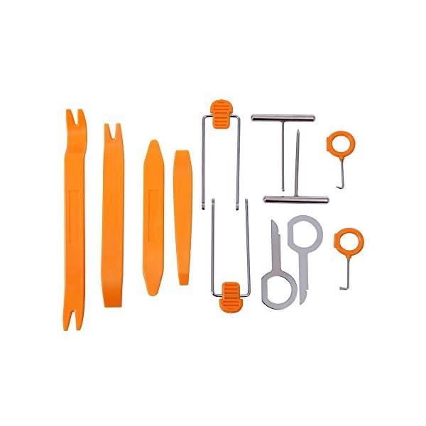 3 pezzi tutto il necessario per un kit di riparazione AFA Tooling set di pinze rimuovi clip e estrattore di viti