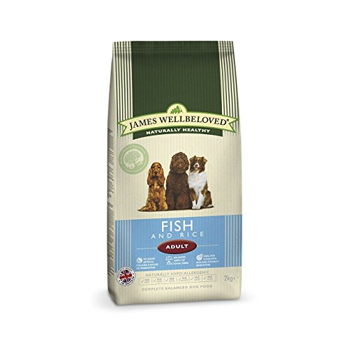 James Wellbeloved Dog Food Adult Fish Rice Kibble 15kg