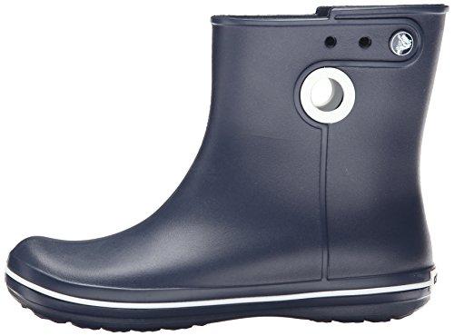 Crocs Jaunt Shorty Damen Kurzschaft Gummistiefel,  Blau (Navy 410),  39/40 EU (7 Damen UK) -