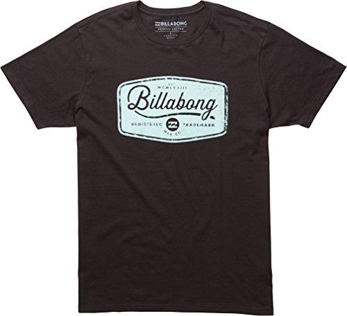 Billabong-Maglietta a maniche corte da uomo pit stop, Uomo, T-shirt, Pit Stop Short Sleeve, Black, M
