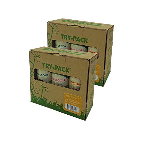 BIOBIZZ - Try-Pack Indoor - Mega Pack - 3 x 500 ML (6 flacons de 250 ML)